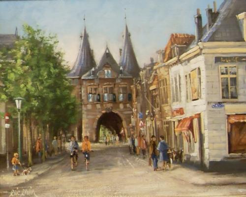 Erwin - Eric - Kampen, Cellebroeders poort